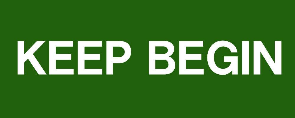 KEEP BEGIN☆SHOP